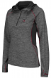 "South Carolina Gamecocks Women's NCAA ""Downhill"" 1/4 Zip Hooded L/S Wind Shirt"