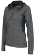 "UCLA Bruins Women's NCAA ""Downhill"" 1/4 Zip Hooded L/S Wind Shirt"