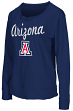 "Arizona Wildcats Women's NCAA ""Rope Tow"" Long Sleeve Crew Shirt"