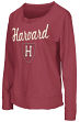 "Harvard Crimson Women's NCAA ""Rope Tow"" Long Sleeve Crew Shirt"