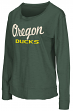 "Oregon Ducks Women's NCAA ""Rope Tow"" Long Sleeve Crew Shirt"