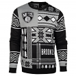 "Brooklyn Nets Men's NBA ""Patches"" Ugly Sweater"