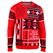 "Chicago Blackhawks Men's NHL ""Patches"" Ugly Sweater"