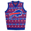 "Buffalo Bills Men's NFL ""Aztec Print"" Ugly Sweater Vest"