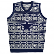 "Dallas Cowboys Men's NFL ""Aztec Print"" Ugly Sweater Vest"
