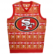"San Francisco 49ers Men's NFL ""Aztec Print"" Ugly Sweater Vest"