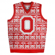 "Ohio State Buckeyes NCAA Men's ""Aztec Print"" Ugly Sweater Vest"