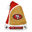 San Francisco 49ers 2015 NFL Basic Logo Santa Hat