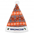 Denver Broncos 2015 NFL Knit Santa Hat