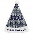 Seattle Seahawks 2015 NFL Knit Santa Hat