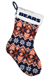 Chicago Bears 2015 NFL Knit Christmas Stocking