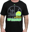 "Seattle Supersonics Majestic NBA ""Success"" Fluorescent Logo Men's T-Shirt"