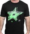"Dallas Stars Majestic NHL ""Give Up"" Fluorescent Logo Men's T-Shirt"