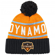 "Houston Dynamo MLS Mitchell & Ness ""High 5"" Cuffed Knit Hat w/ Pom"