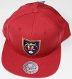 "Real Salt Lake MLS Mitchell & Ness ""Team Solid"" Snap Back Hat"