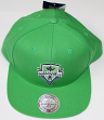 "Seattle Sounders MLS Mitchell & Ness ""Team Solid"" Snap Back Hat"