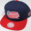 "New England Revolution MLS Mitchell & Ness ""2 Tone"" Snap Back Hat"