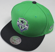 "Seattle Sounders MLS Mitchell & Ness ""2 Tone"" Snap Back Hat"