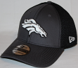 Denver Broncos New Era NFL 39THIRTY Gray & Black Neo Flex Fit Hat