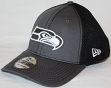 Seattle Seahawks New Era NFL 39THIRTY Gray & Black Neo Flex Fit Hat