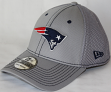 New England Patriots New Era NFL 39THIRTY Gray Neo Flex Fit Hat