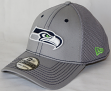 Seattle Seahawks New Era NFL 39THIRTY Gray Neo Flex Fit Hat