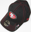San Francisco 49ers New Era NFL 39THIRTY Team Color Stitched Neo Flex Fit Hat