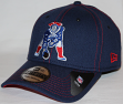 New England Patriots New Era 39THIRTY Throwback Color Stitched Neo Flex Fit Hat