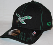 Philadelphia Eagles New Era 39THIRTY Throwback Color Stitched Neo Flex Fit Hat