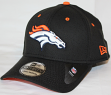Denver Broncos New Era NFL 39THIRTY Black Flex Fit Hat
