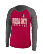 "Florida State Seminoles NCAA ""Spotter"" Long Sleeve Dual Blend Men's Henley Shirt"