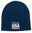 Team USA Olympic Games Cuffless Knit Hat - Navy