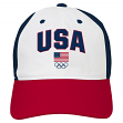 "Team USA Olympic Games ""Red, White, & Blue"" Slouch Adjustable Hat"