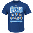 Kansas City Royals Majestic 2015 World Series Champions Caricature Men's T-Shirt