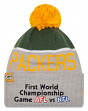 Green Bay Packers New Era NFL Super Bowl I Logo Gray Sport Knit Hat