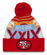 San Francisco 49ers New Era NFL Super Bowl XXIX Logo Cuffed Knit Hat