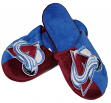 Colorado Avalanche NHL Men's Split Color Slide Slippers