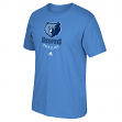 Memphis Grizzlies Adidas NBA Primary Logo Men's Light Blue T-Shirt
