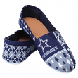 "Dallas Cowboys Women's NFL ""Ugly Slipper"" Slip On Canvas Shoes"