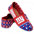 "New York Giants Women's NFL ""Ugly Slipper"" Slip On Canvas Shoes"