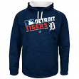 "Detroit Tigers Majestic MLB ""Team Choice"" On-Field Hooded Sweatshirt"