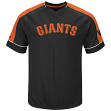 "San Francisco Giants Majestic MLB ""Lead Off Hitter"" V-Neck Men's Fashion Jersey"
