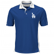 """Los Angeles Dodgers Majestic MLB """"To The 10th"""" Men's Performance Polo Shirt"""