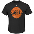 "San Francisco Giants Majestic MLB ""Electric Ball"" Short Sleeve Men's T-Shirt"