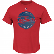 "St. Louis Cardinals Majestic MLB ""Electric Ball"" Short Sleeve Men's T-Shirt"