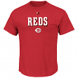 "Cincinnati Reds Majestic MLB ""Series Sweep"" Men's Short Sleeve T-Shirt"