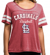 "St. Louis Cardinals Women's Majestic MLB ""Loving The Game"" Dual Blend Shirt"