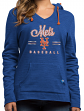 "New York Mets Women's Majestic MLB ""Chase The Dream"" Hooded Sweatshirt"