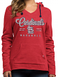 "St. Louis Cardinals Women's Majestic MLB ""Chase The Dream"" Hooded Sweatshirt"