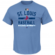 St. Louis Cardinals Majestic MLB Team Property Cooperstown Short Sleeve T-shirt